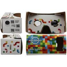 Gafas virtuales Cardboard - Connectad