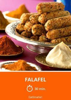 Falafel - smarter - Zeit: 30 Min. | eatsmarter.de