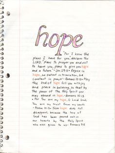 Romans 5:5 always remember these words, there is always a sliver lining :)