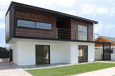 Дома в translation missing: ru.style.Дома.modern. Автор - Landeros & Charles Architects - homify / Landeros & Charles Architects