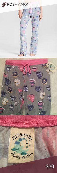 nwt Munki Munki Bright Aqua /& Purple Lace Swallow Bird Tattoo Bikini Panties XL