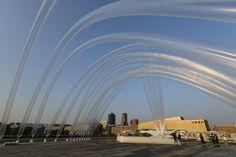 Sky Art Event In Commemoration Of Otto Piene