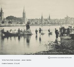 James Valentine - - 'At the Friar's Shott, Inverness' Inverness, Local History, Family History, Old Pictures, Old Photos, Scotland People, James Valentine, Vintage Postcards, Paris Skyline