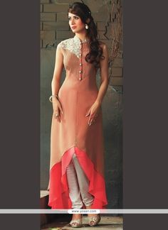 Adorning Viscose Embroidered Work Party Wear Kurti Model: YOKU337