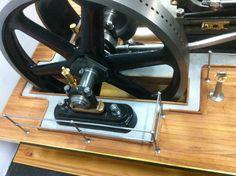 Handrails Maker Shop, Engine Rebuild, Steam Engine, Metal Crafts, Conservation, Restoration, Twin, Miniature, Engineering