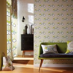 Products | Scion - Fashion-led, Stylish and Modern Fabrics and Wallpapers | Cykel (NFIK111100) | Levande Wallpapers