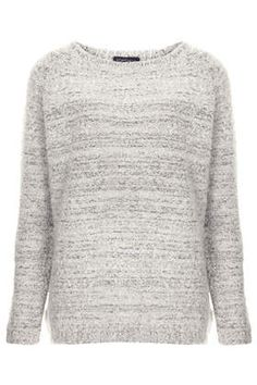Wooly boucle sweater