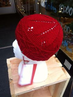 Red Beanie by Andrea Newell Greenfield! With a close fitting contemporary style and rich red color, this hat has it all. Made from luxurious 100% pima cotton. (Machine wash and dry) Get this wonderful accessory for $35!