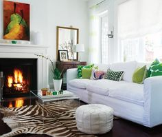 Fresh & Youthful Living Room