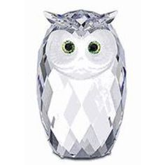 Swarovski Crystal Figurines | Swarovski Crystal Figurine #010125, Giant Owl