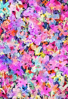 Posey Rain - Textile Design by Pamela Gatens www.pamelagatens.com Textile Pattern Design, Textile Patterns, Textile Prints, Print Patterns, Textiles, Flower Iphone Wallpaper, Wallpaper Backgrounds, Iphone Backgrounds, Wallpapers