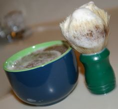 I'd Lather Be Soaping: Shaving Soap, Then and Now,  Recipe and Instructions A really good write up.