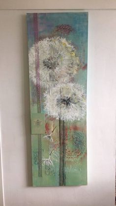 commisioned painting dandelion Paintings I Love, Dandelion, My Love, Art, Art Background, Dandelions, Kunst, Performing Arts, Taraxacum Officinale