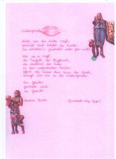Ein schön gestaltetes Gedicht zum Thema Muttertag.
