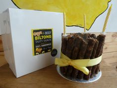 Biltong and Droewors Cake made in the UK. Biltong, Big Cakes, How To Make Cake, Xmas, Tasty, Beef, Snacks, Breakfast, Amazing