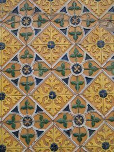 Tiles from Lisboa, Portugal.