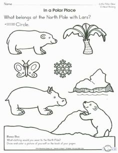 polar bear family coloring page polar bear worksheets and bears. Black Bedroom Furniture Sets. Home Design Ideas
