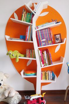 Bücherregal Baum Best Picture For baby room decor owls For Your Taste You are looking for something, and it is going to tell you exactly … Corner Bookshelves, Bookcase, Tree Bookshelf, Small Lounge Rooms, Tree Shapes, Baby Room Decor, Playroom Decor, Cool Walls, Room Colors