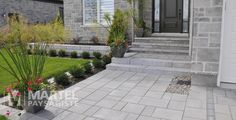 Landscape Gardening Ideas For Small Gardens of Landscape Gardening Kildare your … - All About Balcony Front House Landscaping, Front Walkway, Driveway Landscaping, Modern Landscaping, Front Stairs, Modern Landscape Design, Landscape Plans, Small Gardens, Outdoor Gardens