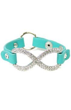 Turquoise Infinity Bracelet ♥