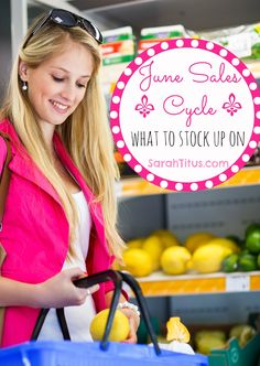 June Sales Cycle: What to Expect to See on Sale - Sarah Titus