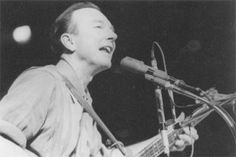 """The person who was really responsible for making 'We Shall Overcome' the number one song back in those days was a man named Guy Carawan. He got involved in the civil rights movement and was in charge of music at a tiny little labor school called Highlander Folk School. ""  ---Pete Seeger"