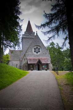Crathie Kirk is a small Church of Scotland parish church in the Scottish village of Crathie, best known for being the regular place of worship of the British Royal Family when they are holidaying at nearby Balmoral Castle.