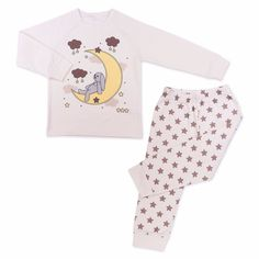 Made from skin-friendly organic cotton Comfortable clothing, no irritating tags or seams Also available in blue colour For babies in sizes: months / months / Toddler Pajamas, Girls Pajamas, Toddler Boy Outfits, Toddler Boys, Star Print, Comfortable Outfits, Pyjamas, Children, Kids