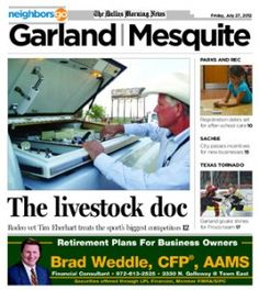 07/27 Pets and Their People: Tim Eberhart is Mesquite ProRodeo's veterinarian.