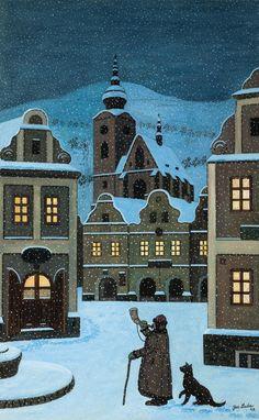 Josef Lada, Ponocný, 1947