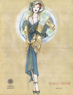 The Drowsy Chaperone (Kitty). Costume design by Gregg Barnes.