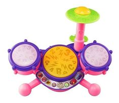 """Vtech KidiBeats Pink Exclusive Drum Set Kids Music Girl Toys Toddlers Baby Gift#024       Famous Words of Inspiration...""""Had I been chosen President again, I am certain I could not have lived another year.""""   John Adams — Click here for more... more details available at https://perfect-gifts.bestselleroutlets.com/gifts-for-babies/toys-games-gifts-for-babies/product-review-for-vtech-kidibeats-pink-exclusive-drum-set-kids-m"""
