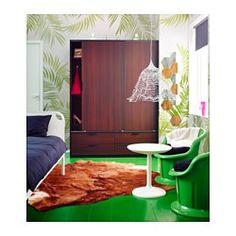 IKEA - TRYSIL, Garderobekast schuifdeuren/4 lades, wit/lichtgrijs, , Met schuifdeuren heb je meer ruimte voor meubels omdat ze geopend geen ruimte in beslag nemen.De lades zijn makkelijk te openen en te sluiten. Met blokkeerstuk.Met opbergers uit de serie SKUBB kan je de binnenkant netjes op orde houden.