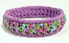 Crocheted Bracelet Soft Bangle
