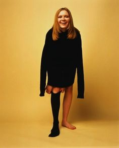 """Kirsten Dunst... Photographer: """"There's no way you look disfigured posing like that, promise."""""""