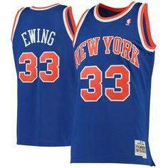 00bf0279f33 Patrick Ewing New York Knicks Mitchell   Ness 1991-92 Hardwood Classics  Swingman Jersey -