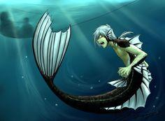 If he was a merman (not my art)