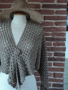 Tuto gilet chale crochet