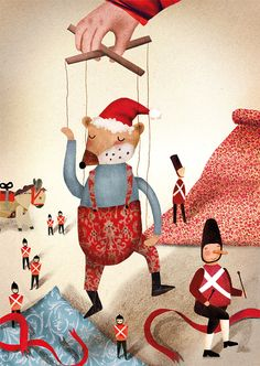 CHRISTMAS 2014 - Emily Nash Illustration