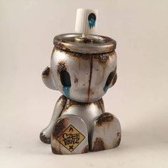"""Under a week to go untilToyCon UK and our boy Chris """"Czee"""" Tampin has been hard at work knocking out some customs as well as originalart. One release will be """"Empty"""" a custom Kidrobot micro Munny series! Czeehas been teasing as well as sharing all the WIP photos of the little chap being born and now Empty are ready for new homes. No need to cry if you can't make it to ToyCon UK as Czeehas a caring heart and he'sready for a duelrelease. """"Empty"""" custo..."""