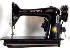 Ultra-Rare Singer Model 66-6 Golden Gate Expo 1940 Sewing Machine