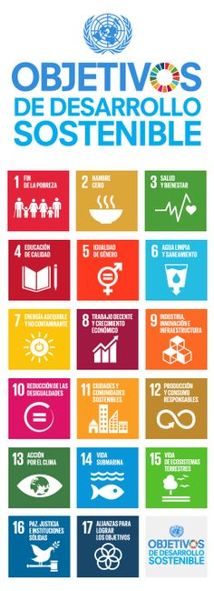 View a list of the 17 United Nations Sustainable Development Goals (UN SDGs). The goals are a blueprint for transforming our world by Illuminati, Un Sustainable Development Goals, Poverty And Hunger, Global Citizenship, Ap Spanish, Sustainable Tourism, Microbiology, Green Life, United Nations