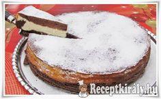 Túrókrémes csokitorta recept képpel. Elkészítés és hozzávalók leírása, 1 órás, 8 főre, Normál, Vegetáriánus