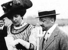 D'Annunzio e Alessandra di Rudinì (NIke)