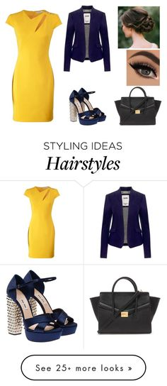 """""""Untitled #98"""" by nalzeyy on Polyvore featuring мода, Versace, Tommy Hilfiger, Forever 21, Miu Miu, women's clothing, women's fashion, women, female и woman"""