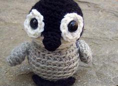 Crochet PATTERN: Crochet Penguin -pdf-