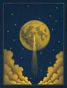 Chris Buzelli | OIL | Moon Shot