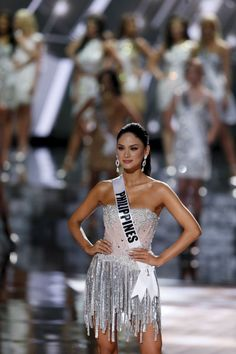 Miss Philippines Pia Alonzo Wurtzbach poses after being named as a finalist during the 2015 Miss Universe Pageant in Las Vegas