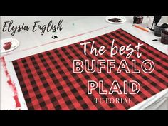 How To Paint Buffalo Plaid Christmas Wood, Plaid Christmas, Christmas Signs, Buffalo Check Christmas Decor, Christmas Ideas, Christmas Crafts, Christmas 2019, Diy Painting, Painting On Wood