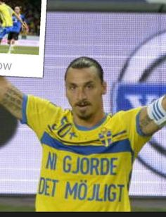 Ibra's message to Swedish fans after becoming Sweden's All-Time Top Leading Scorer: This wouldn't have been possible without you guys.